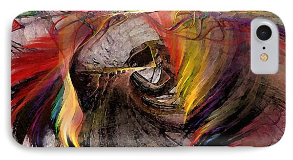 The Huntress-abstract Art IPhone Case