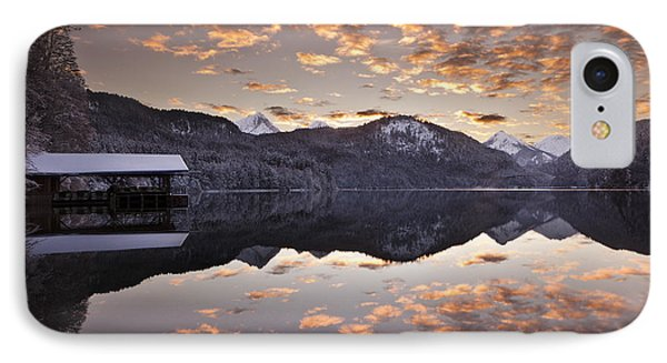 The Hut By The Lake Phone Case by Jorge Maia