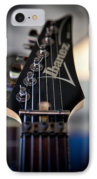 The Ibanez Guitar IPhone Case by David Patterson