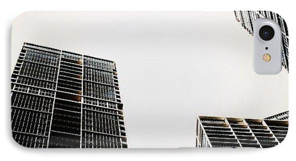 The Icon Bldg. Complex - Miami IPhone Case by Joel Lopez