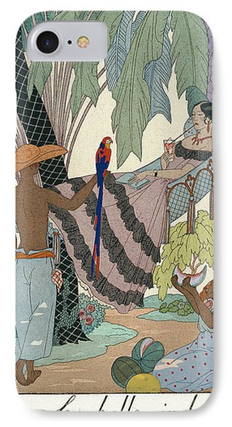 The Idle Beauty Phone Case by Georges Barbier