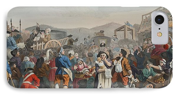The Idle Prentice Executed At Tyburn IPhone Case
