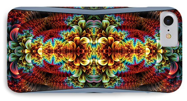IPhone Case featuring the digital art The Illusion Of Depth by Lea Wiggins