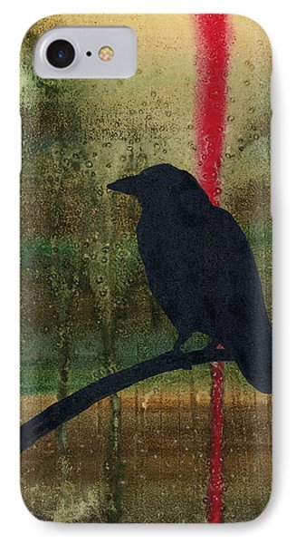 The Impossibility Of Crows Phone Case by Jim Stark