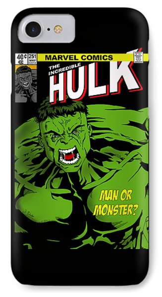 The Incredible Hulk IPhone Case by Mark Rogan