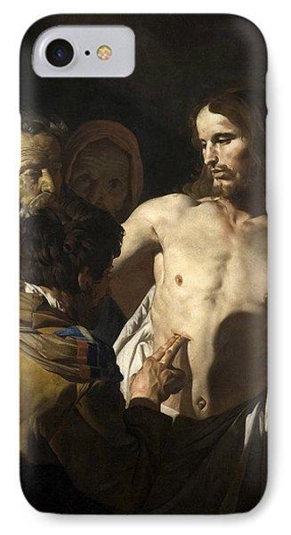 The Incredulity Of Saint Thomas IPhone Case