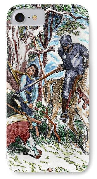 The Ingenious Hidalgo Don Quixote Of La IPhone Case by Prisma Archivo
