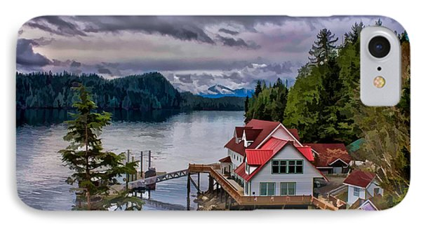 The Inlet Painitng IPhone Case by Timothy Latta