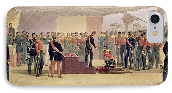 The Investiture Of The Order IPhone Case by William 'Crimea' Simpson