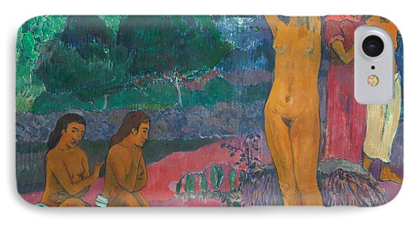 The Invocation IPhone Case by Paul Gauguin