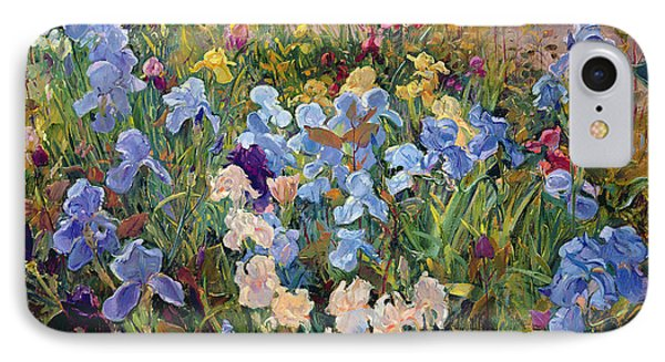The Iris Bed IPhone Case by Timothy Easton