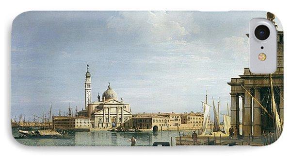 The Island Of San Giorgio Maggiore Phone Case by Canaletto