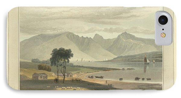 The Isle Of Arran Near Ardrossan IPhone Case by British Library