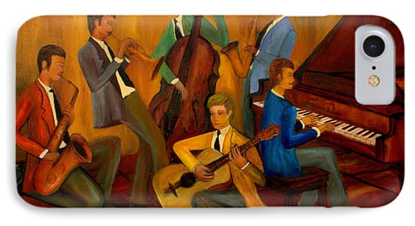 The Jazz Company Phone Case by Larry Martin