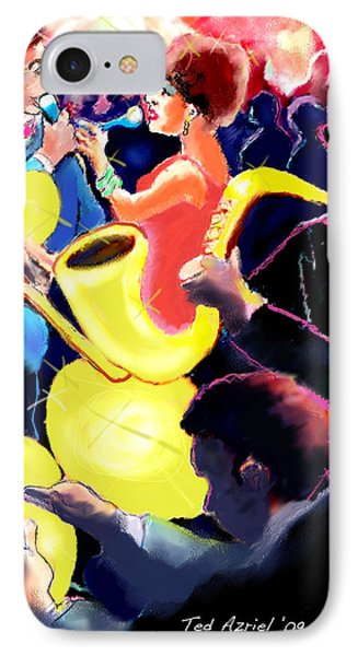 The Jazz Singers Phone Case by Ted Azriel