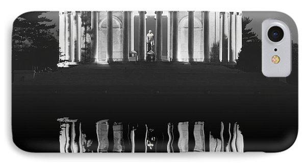 The Jefferson Memorial IPhone Case by Daniel Hagerman
