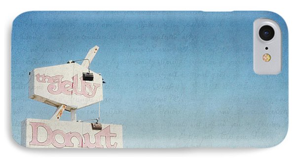 The Jelly Donut - California IPhone Case by Lisa Parrish
