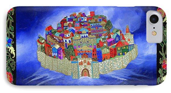The Jerusalem Above IPhone Case by Dawnstarstudios