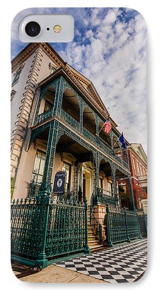 The John Rutledge House Inn IPhone Case