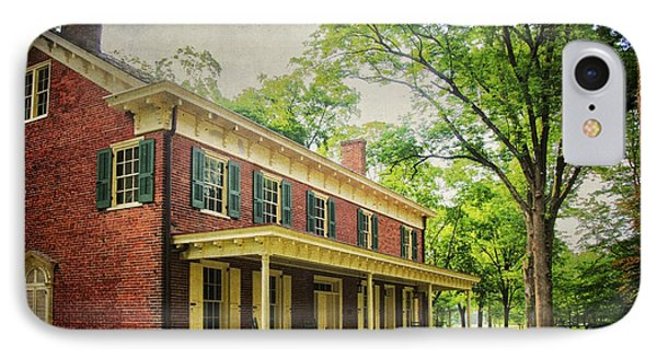 The John Stover House IPhone Case by Debra Fedchin
