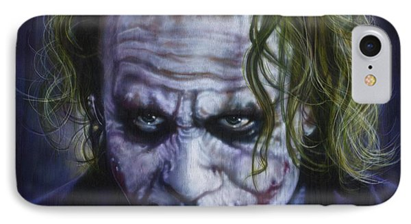 The Joker IPhone 7 Case by Tim  Scoggins