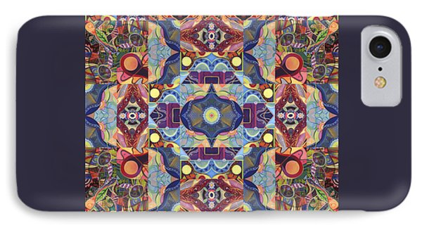 The Joy Of Design Mandala Series Puzzle 1 Arrangement 1 IPhone Case