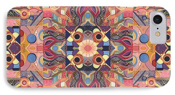 The Joy Of Design Mandala Series Puzzle 4 Arrangement 1 IPhone Case