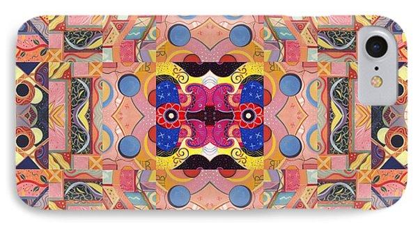 The Joy Of Design Mandala Series Puzzle 4 Arrangement 2 IPhone Case