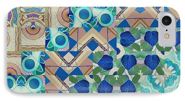 The Joy Of Design Mandala Series Puzzle 5 Arrangement 5 Inverted IPhone Case by Helena Tiainen