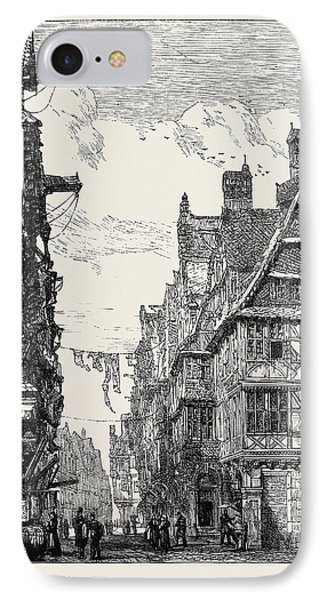 The Judengasse At Frankfort-on-the-main IPhone Case by English School