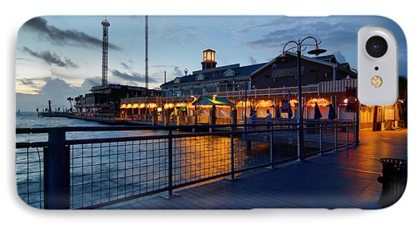 The Kemah Boardwalk IPhone Case by Linda Unger