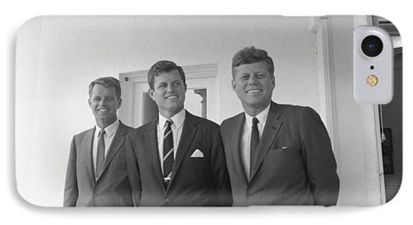 The Kennedy Brothers Phone Case by War Is Hell Store