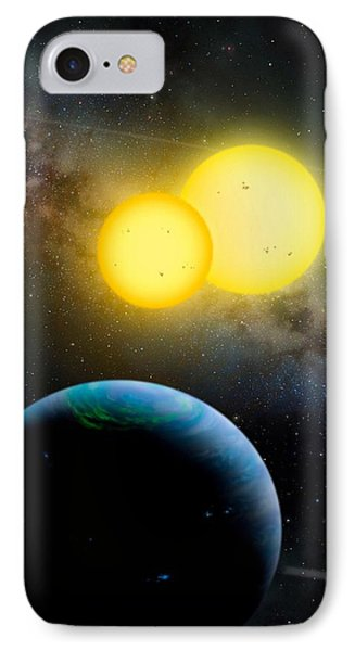 The Kepler 35 System Phone Case by Movie Poster Prints