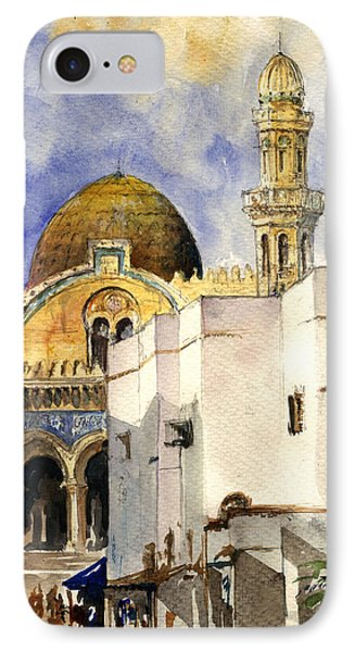 The Ketchaoua Mosque IPhone Case by Juan  Bosco