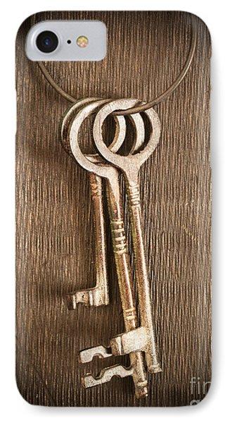 The Keys IPhone Case by Edward Fielding