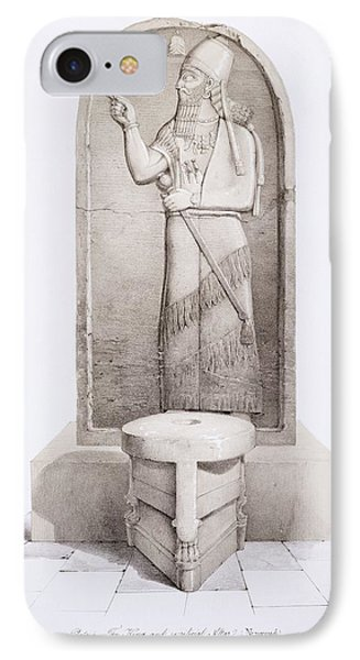 The King And Sacrificial Altar, Nimrud IPhone Case