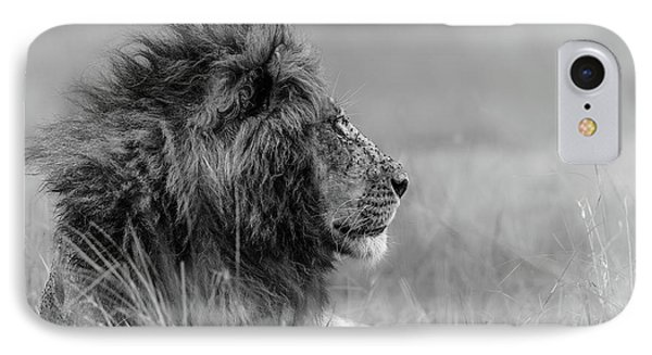 The King Is Alone IPhone Case
