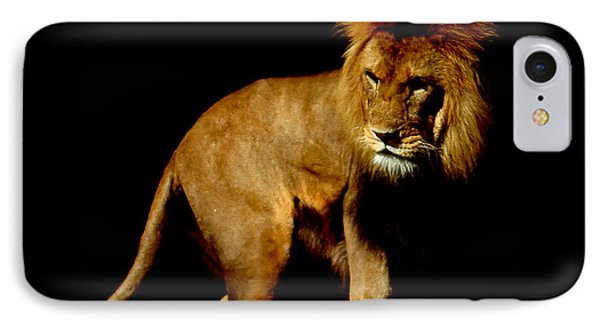 The King IPhone Case by Martin Newman