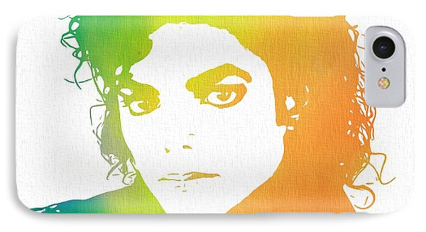 The King Of Pop Art IPhone Case by Dan Sproul