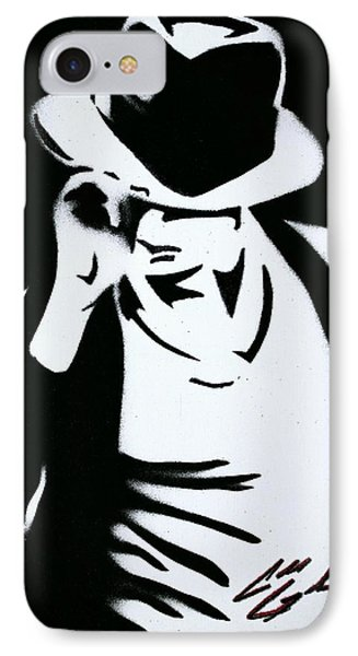 The King Of Pop  IPhone Case by Caleb Goodman