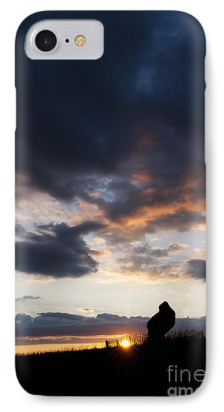 The King Stone Sunset Phone Case by Tim Gainey