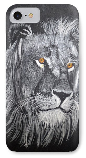 The King IPhone Case by Zilpa Van der Gragt
