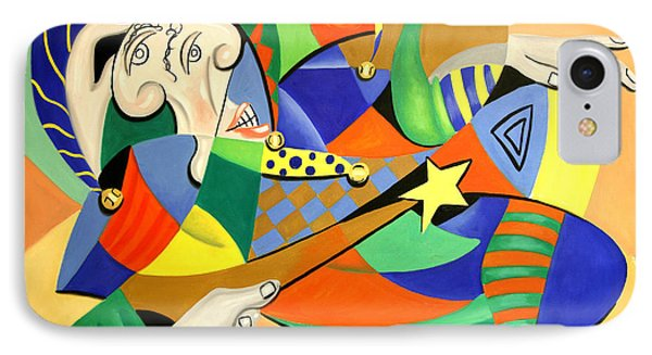 The Kings Jester Phone Case by Anthony Falbo