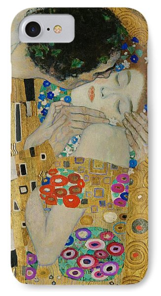 The Kiss Detail Phone Case by Gustav Klimt