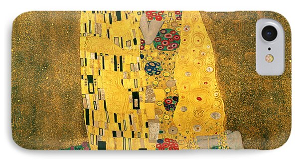 The Kiss IPhone Case by Gustive Klimt
