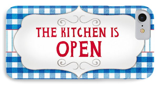 The Kitchen Is Open IPhone Case