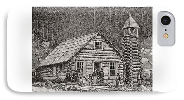 The Klondike Presbyterian Church At Juneau, Alaska IPhone Case