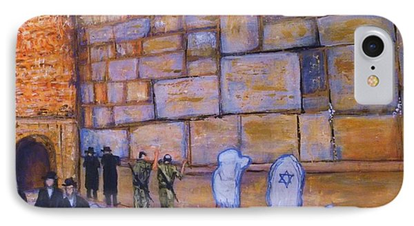 The Kotel IPhone Case by Donna Dixon