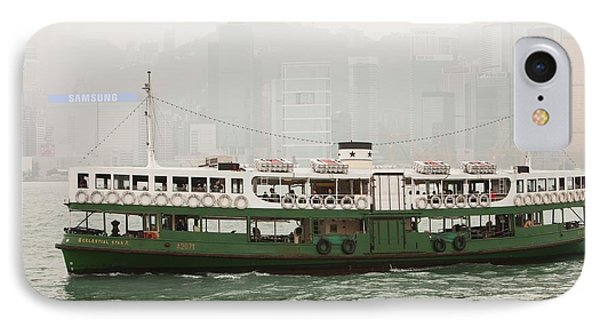 The Kowloon-hong Kong Ferry IPhone Case by Ashley Cooper