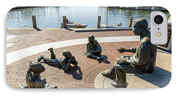 The Kunta Kinte-alex Haley Memorial In Annapolis IPhone Case